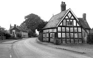 Church Minshull, the Main Street c1955