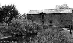 Church Minshull, The Old Mill c.1955