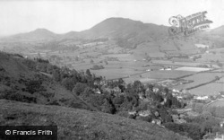And Caradoc Hill c.1955, Church Stretton