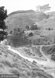 Church Stretton, Carding Mill Valley And Burway c.1955