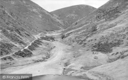 Church Stretton, Carding Mill Valley And Swimming Pool c.1950