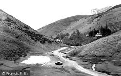 Church Stretton, Carding Mill Valley c.1965