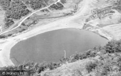 Church Stretton, Carding Mill Valley, The Swimming Pool c.1950