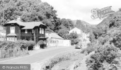 Church Stretton, Chalet Pavilion And Old Carding Mill Café c.1960