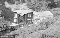 Church Stretton, Chalet Pavilion, Carding Mill Valley c.1950