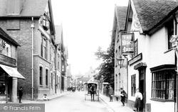 Church Stretton, High Street 1910