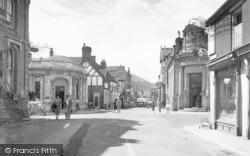 Church Stretton, High Street c.1955