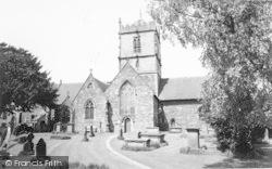 Parish Church c.1965, Church Stretton
