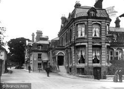 Church Stretton, The Hotel 1910