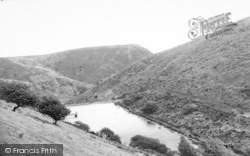 Church Stretton, The Reservoir, Carding Mill Valley c.1960