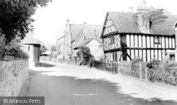 Church Stretton, Tudor Cottage, High Street c.1960