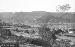Church Stretton, View From Hazler Hill c.1935