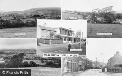 Church Village, Composite c.1955