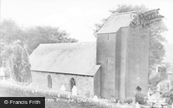 Church Village, The Church c.1950