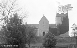 Churchdown, St Bartholomew's Church c.1906