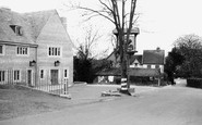 Churchdown, the Bat and Ball c1950