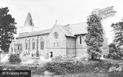 Churchstoke, St Nicholas Church c.1960