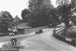 The Bridge c.1955, Churchstoke