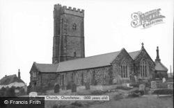 St Mary's Church c.1960, Churchstow