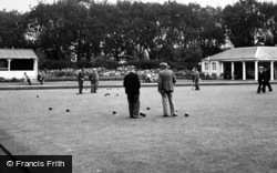 Churchtown, Bowling Green, Botanic Gardens c.1950