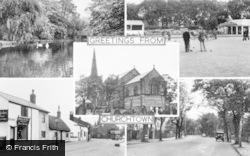 Churchtown, Composite c.1955