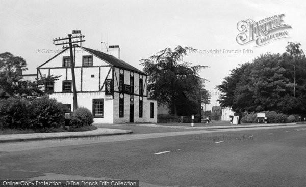 Churchtown, Horns Inn and Church Road c1960
