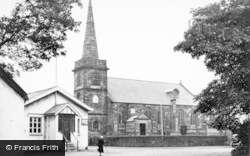 Churchtown, St Cuthbert's Church c.1950