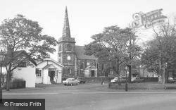 Churchtown, St Cuthbert's Church c.1955
