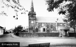 Churchtown, St Cuthbert's Church c.1960