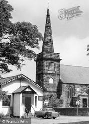 Churchtown, St Cuthbert's Church c.1965