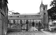 Churchtown, the Parish Church c1955