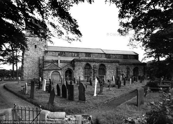 Churchtown, St Helen's Church c1955
