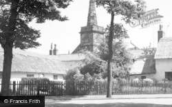 Churchtown, Thatched Cottages c.1965