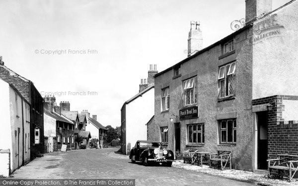 Churchtown, the Punch Bowl Inn c1955