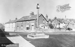 The Village Cross c.1965, Churchtown