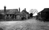 Churston Ferrers, School and Post Office 1906