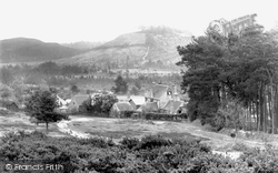 Churt, Crosswater Farm And Devil's Jump 1921