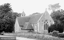 Churt, St John's Church c.1955