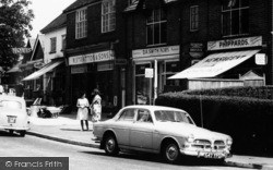 Churt, The Village Shops c.1965