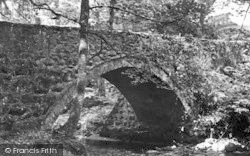 Chwilog, The Bridge c.1955