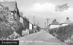 Chwilog, The Village c.1955