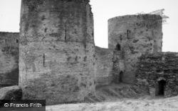 Cilgerran, Castle 1961