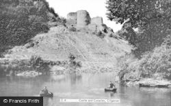 Cilgerran, Castle And Coracles c.1960