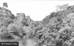 Cilgerran, Castle And River Teifi c.1935