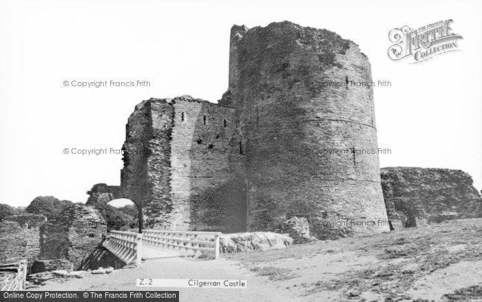 Photo of Cilgerran, Castle c.1960