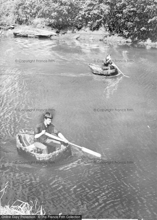 Photo of Cilgerran, Coracles c.1960