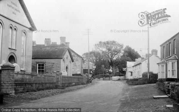 Photo of Cilgerran, High Street c.1955