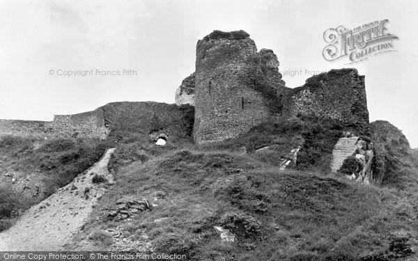 Photo of Cilgerran, The Castle c.1955