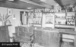 Cilgerran, The Pendre Inn Bar c.1955