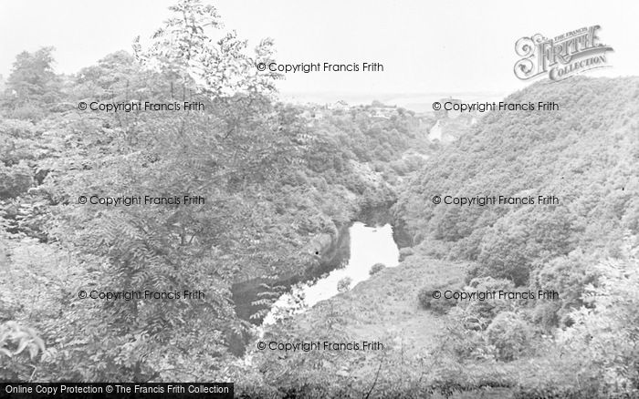 Photo of Cilgerran, The River Teivy c.1955